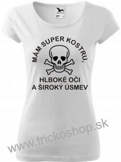 25be8bedfe4c Dámske tričko Mám super kostru empty