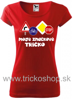 2e875fe28061 Dámske tričko Značkové empty